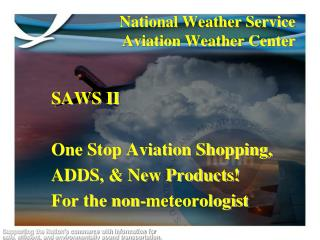 National Weather Service  Aviation Weather Center