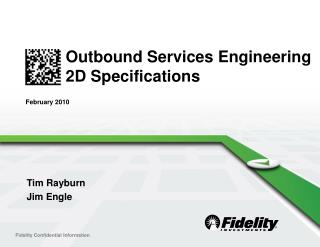 Outbound Services Engineering  2D Specifications