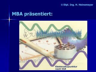 Dipl. Ing. H. Heinemeyer