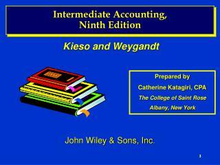 Intermediate Accounting, Ninth Edition