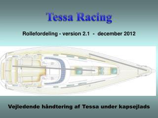 Vejledende håndtering af Tessa under kapsejlads