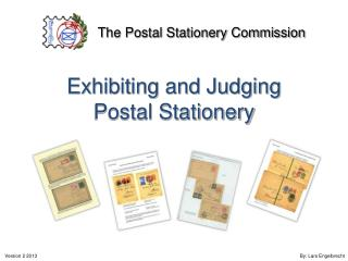 Exhibiting and Judging Postal Stationery