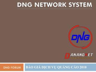 DNG Forum