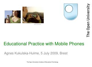 Educational Practice with Mobile Phones