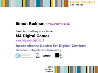 Simon Redman s.redman@livjm.ac.uk