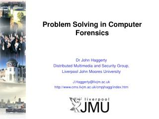 Problem Solving in Computer Forensics