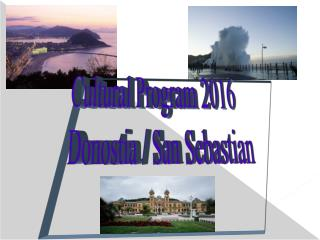Candidature of San Sebastian