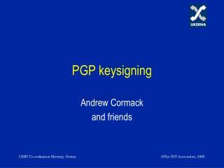 PGP keysigning
