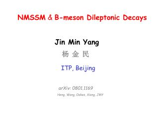 NMSSM & B-meson Dileptonic Decays