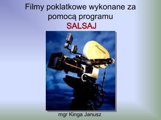 Filmy poklatkowe wykonane za pomoca programu  SALSAJ