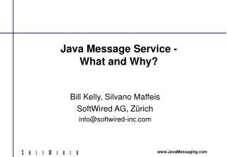 Java Message Service - What and Why?