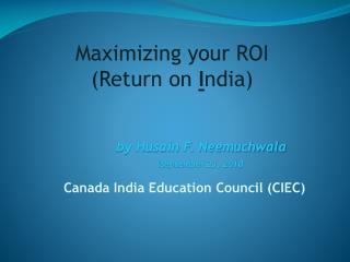 Canada India Education Council (CIEC)