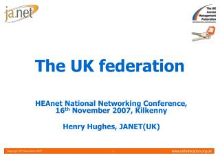 The UK federation