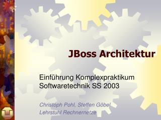 JBoss Architektur