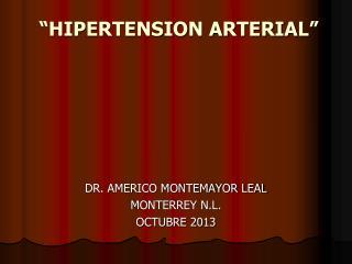 �HIPERTENSION ARTERIAL�