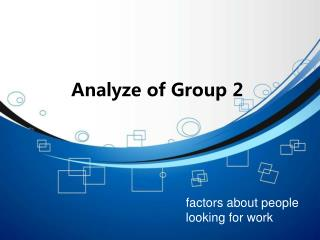 Analyze of Group 2