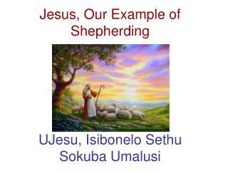Jesus, Our Example of Shepherding