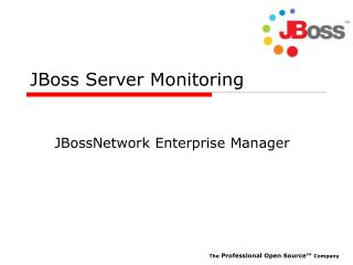 JBoss Server Monitoring