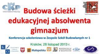 Budowa  ścieżki edukacyjnej absolwenta  gimnazjum