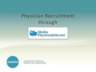Physician Recruitment through