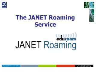 The JANET Roaming Service