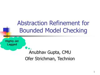Abstraction Refinement for Bounded Model Checking