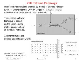 V20 Extreme Pathways
