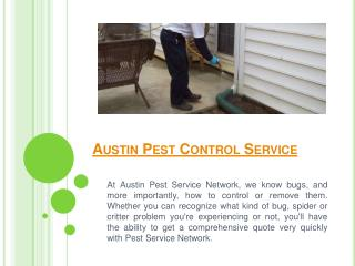 Austin Termite Treatment