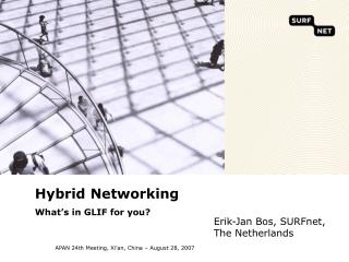 Hybrid Networking What�s in GLIF for you?