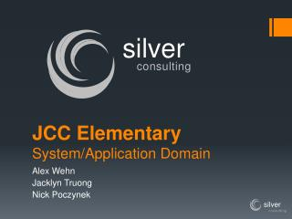 JCC Elementary System/Application Domain