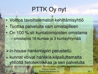 PTTK Oy nyt