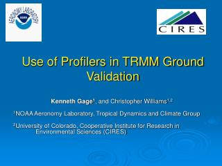 Use of Profilers in TRMM Ground Validation