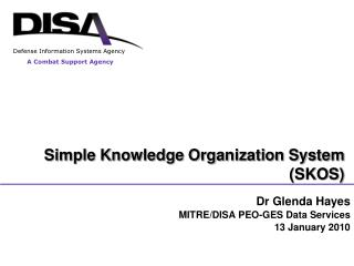 Simple Knowledge Organization System (SKOS)