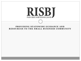 Providing  statEwide  guidance and resources to the small business community