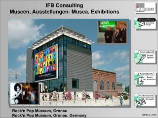 Rock'n Pop Museum, Gronau Rock'n Pop Museum, Gronau, Germany