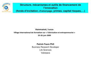 Hammamet , Tunisie Village International de formation sur «Valorisation et entrepreneuriat»