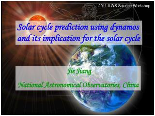 Solar cycle prediction using dynamos and its implication for the solar cycle