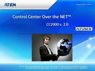 Control Center Over the NET™                                       CC2000 v. 2.0