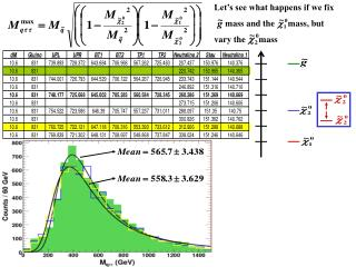 Let�s see what happens if we fix      mass and the      mass, but vary the      mass