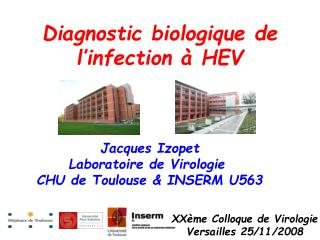 Diagnostic biologique de l'infection à HEV