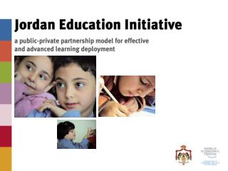 The Jordan Education Initiative started  in January 2003 at Davos