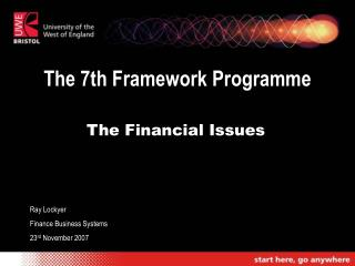 The 7th Framework Programme