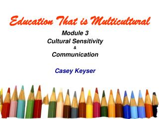 Education That is Multicultural