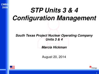 STP Units 3 & 4  Configuration Management