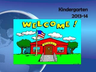 Kindergarten  2013-14