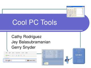 Cool PC Tools