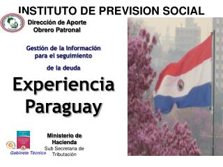 INSTITUTO DE PREVISION SOCIAL
