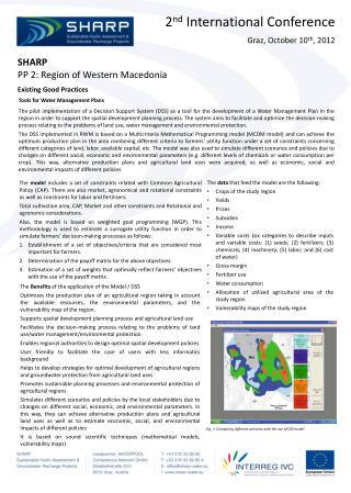 SHARP PP 2: Region of Western Macedonia