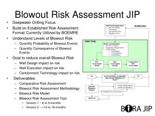 Blowout Risk Assessment JIP