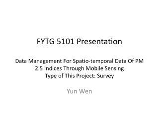 Yun Wen